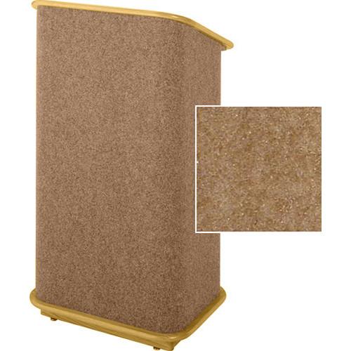 Sound-Craft Systems CFL Floor Lectern (Butternut/Natural Oak)