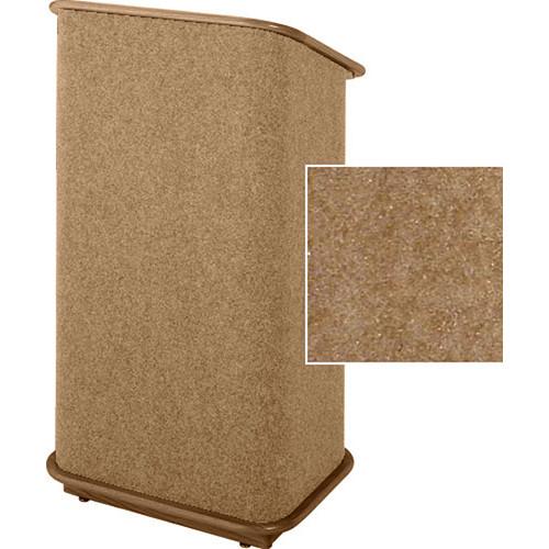 Sound-Craft Systems CFL Floor Lectern (Butternut/Walnut)
