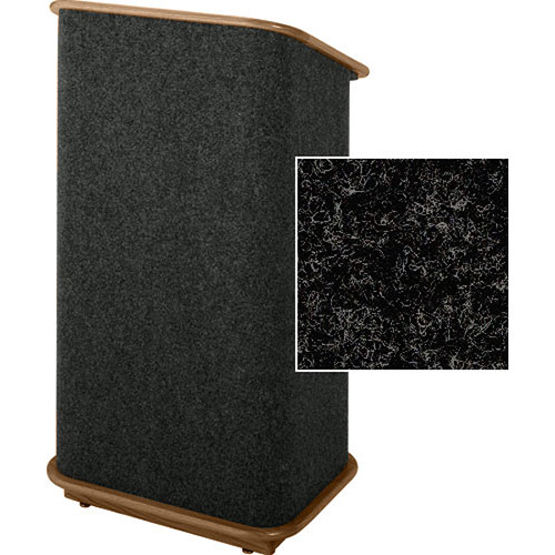 Sound-Craft Systems CFL Floor Lectern (Charcoal/Walnut)