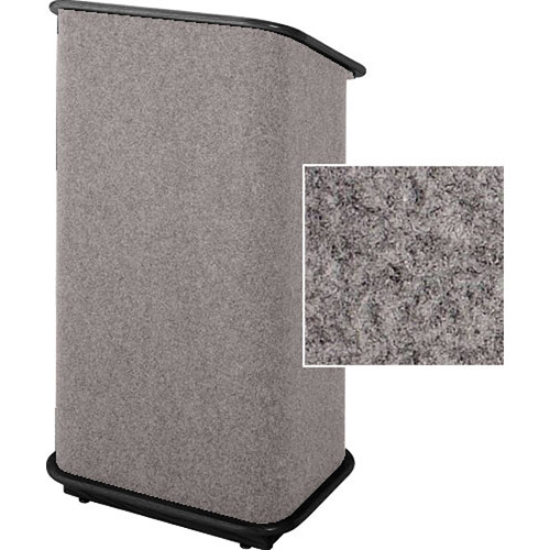 Sound-Craft Systems CFL Floor Lectern (Gunmetal/Black)