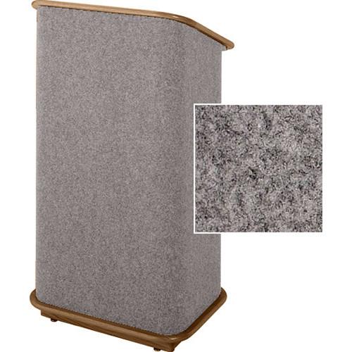 Sound-Craft Systems CFL Floor Lectern (Gunmetal/Walnut)