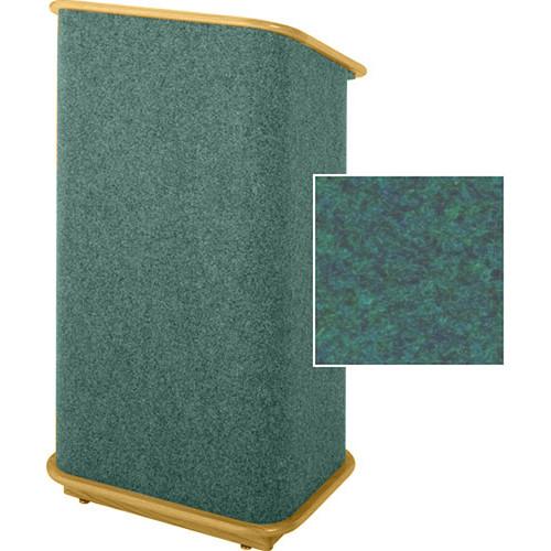 Sound-Craft Systems CFL Floor Lectern (Hunter/Natural Oak)