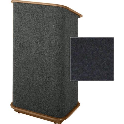 Sound-Craft Systems Floor Lectern (Onyx/Walnut)