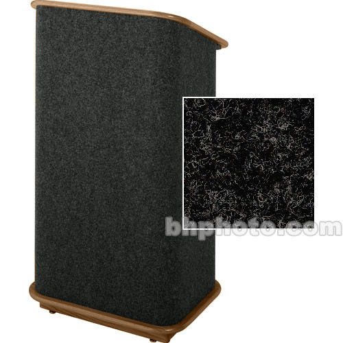 Sound-Craft Systems Spectrum Series CML Modular Lectern CMLBB (Charcoal/Walnut)
