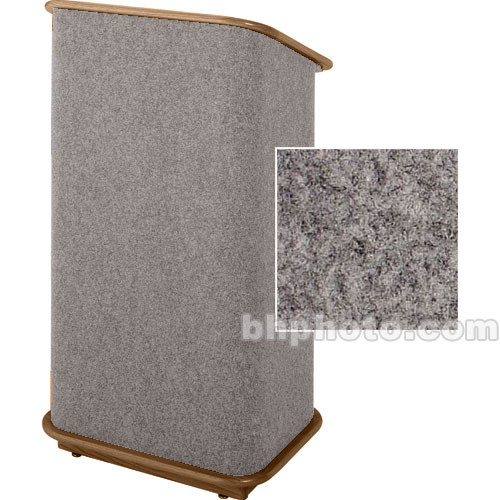 Sound-Craft Systems Spectrum Series CML Modular Lectern CMLBB (Gunmetal/Walnut)