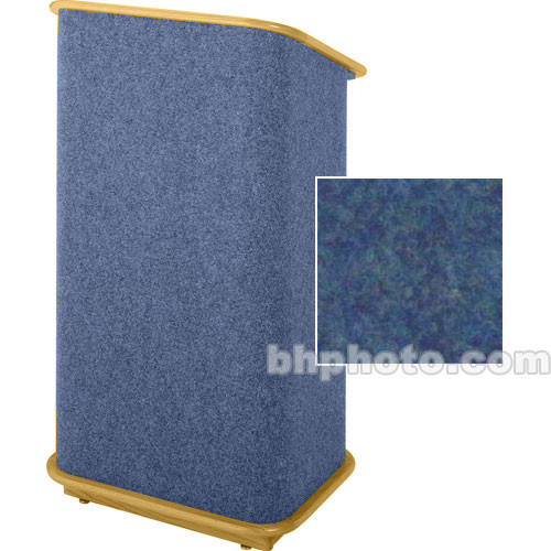Sound-Craft Systems Spectrum Series CML Modular Lectern CMLBB (Navy/Natural Oak)