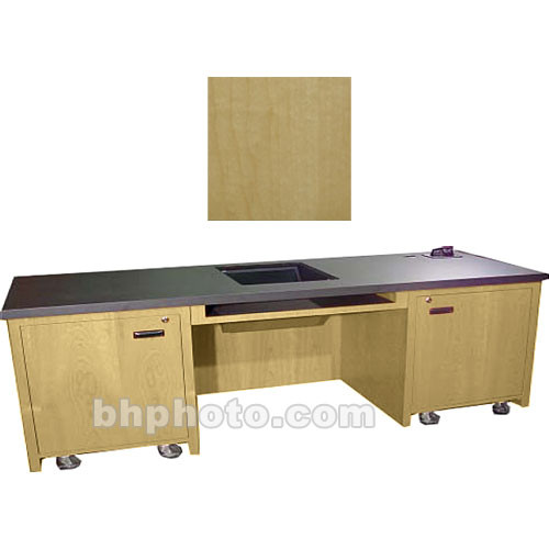 Sound-Craft Systems 2-Bay Custom Presentation Desk (Natural Maple)