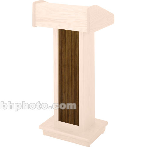 Sound-Craft Systems CSW Wood Front for LC Lecterns (Walnut)
