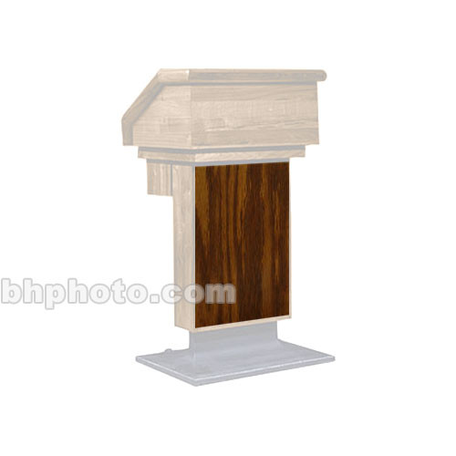 Sound-Craft Systems ESK Wood Front for LE1 Lecterns (Dark Oak)