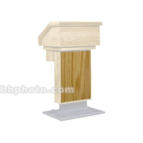Sound-Craft Systems ESO Wood Front for LE1 Lecterns (Natural Oak)