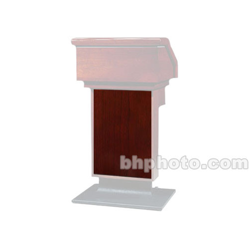 Sound-Craft Systems ESR Wood Front for LE1 Lecterns (Dark Cherry)