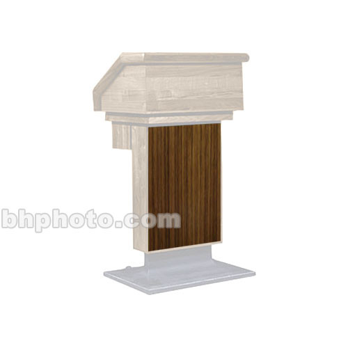 Sound-Craft Systems ESW Wood Front for LE1 Lecterns (Walnut)