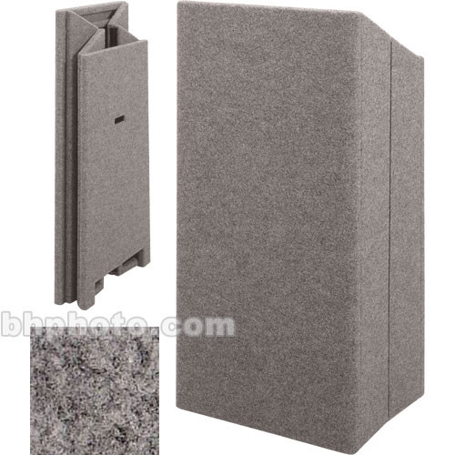 Sound-Craft Systems Folding Floor Lectern (Gunmetal)