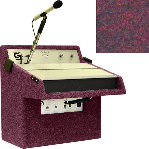 Sound-Craft Systems L16C Economy Lecternette - Portable Public Address and Lectern System with 14 Watt Amplifier, Microphone and Speakers (Brick)