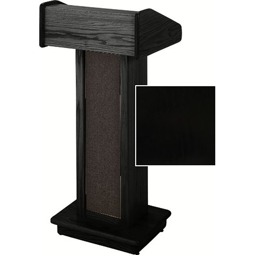 Sound-Craft Systems Lectern Two Series LC Floor Lectern LCB (Black Lacquer)