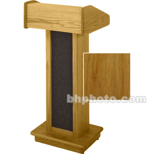 Sound-Craft Systems Floor Lectern (Natural Mahogany)
