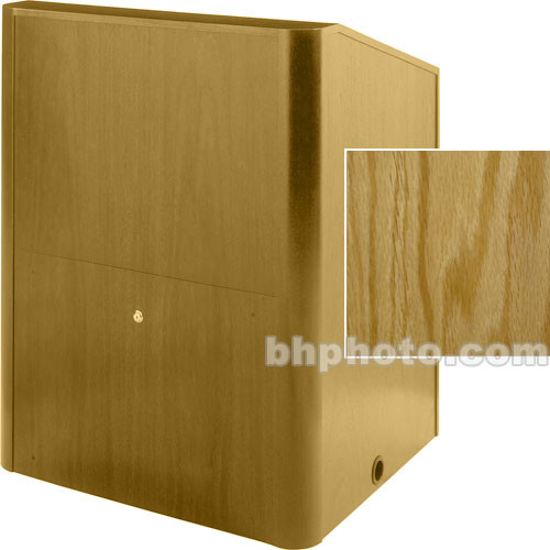 Sound-Craft Systems Camberlin Series Multi-Media Lectern MMR36VO (Natural Oak)