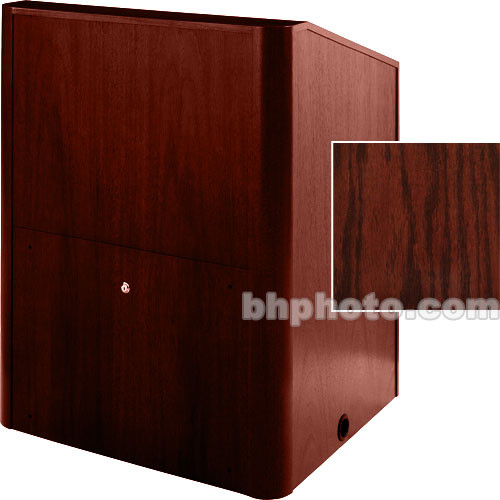 Sound-Craft Systems Multi-Media Lectern Carpet (Dark Cherry Stained Oak)