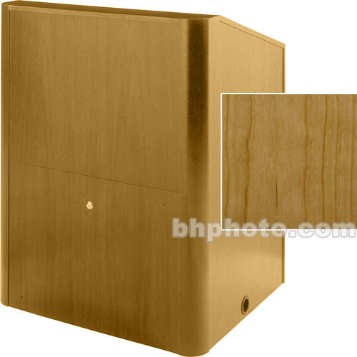 Sound-Craft Systems Camberlin Series Multi-Media Lectern MMR48VY (Natural Cherry)