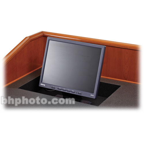 Sound-Craft Systems MW Flat LCD Monitor Well for Multimedia Lecterns