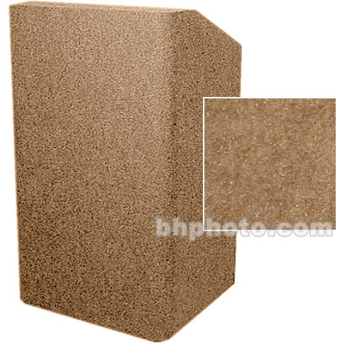 Sound-Craft Systems Floor Lectern Rounded Corners (Butternut)