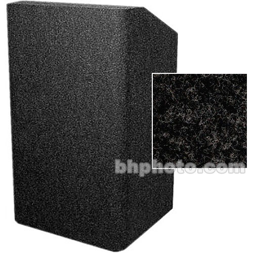 Sound-Craft Systems Floor Lectern Rounded Corners (Charcoal)