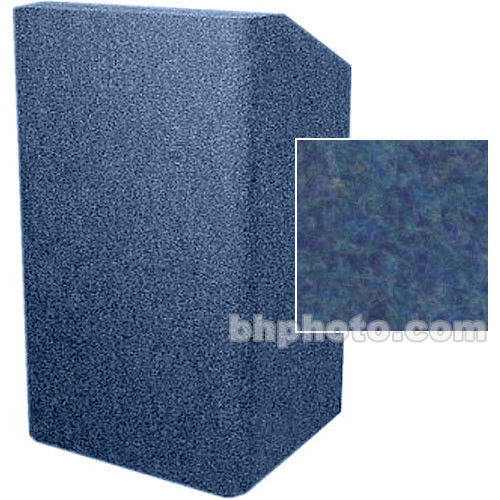 Sound-Craft Systems Floor Lectern Rounded Corners (Navy)