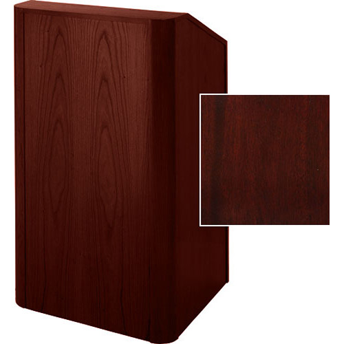 Sound-Craft Systems Floor Lectern Rounded Corners (Dark Mahogany)