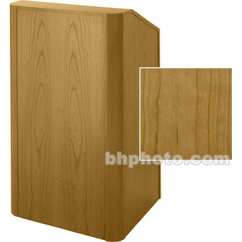 Sound-Craft Systems Floor Lectern Rounded Corners (Natural Cherry)