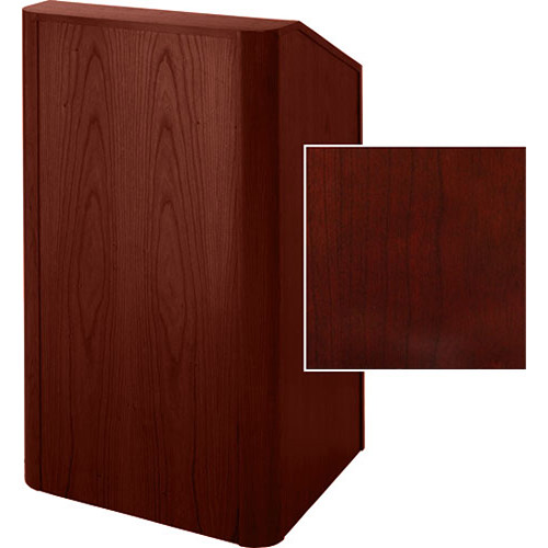 Sound-Craft Systems Floor Lectern Rounded Corners (Dark Cherry)