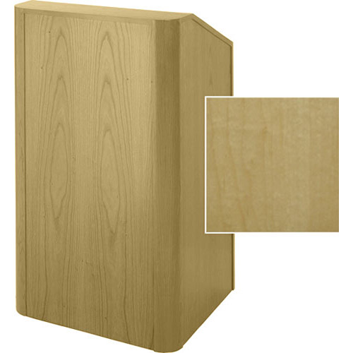 Sound-Craft Systems Floor Lectern Rounded Corners (Natural Maple)