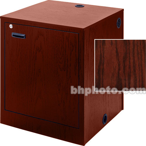 Sound-Craft Systems Rack-Mount Enclosure (Dark Cherry Stained Oak)