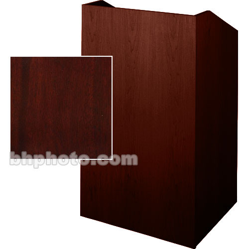 Sound-Craft Systems Floor Lectern (Dark Mahogany)