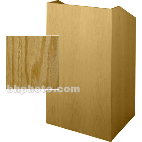 Sound-Craft Systems Floor Lectern (Natural Oak)