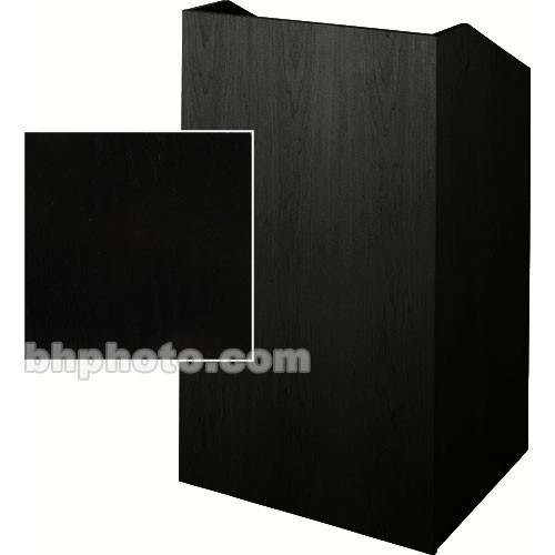 Sound-Craft Systems Floor Lectern (Black Oak)