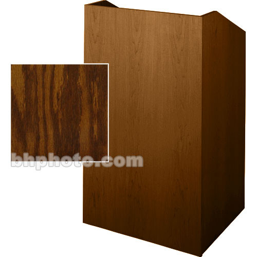 Sound-Craft Systems Floor Lectern (Dark Oak)