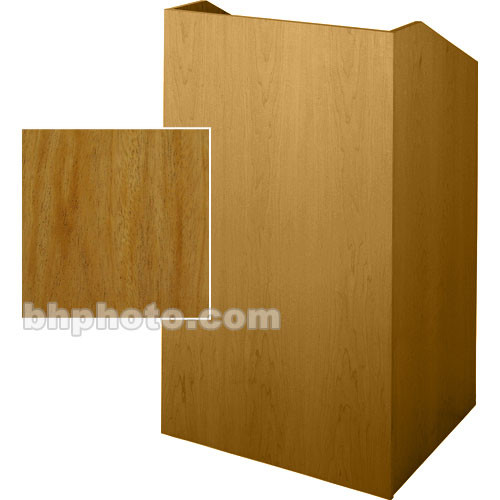 Sound-Craft Systems SC Series Floor Lectern SCV36M (Natural Mahogany)