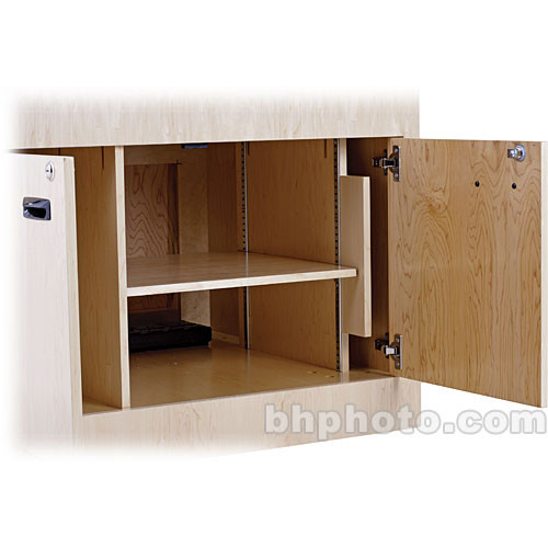 Sound-Craft Systems SHLF Adjustable Shelf w/Pre-Shelving Standards for Multimedia Lecterns