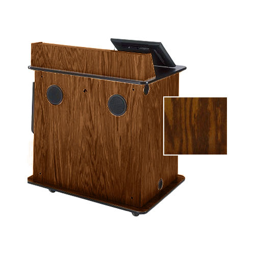 Sound-Craft Systems SML-2 Educator - Multimedia Lectern (Dark Oak)