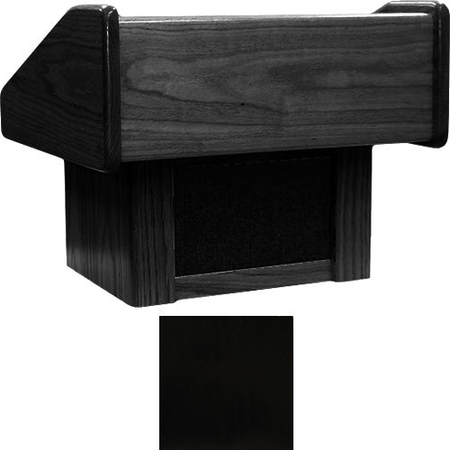 Sound-Craft Systems TC Lectern Two Series Table Lectern - Black Lacquer