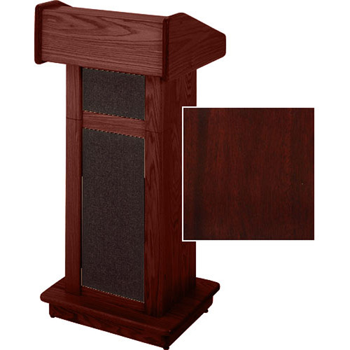 Sound-Craft Systems Modular Lectern (Dark Mahogany)