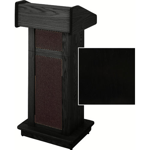 Sound-Craft Systems Lectern Two Series TCFLS Modular Lectern TCFLSB (Black Lacquer)