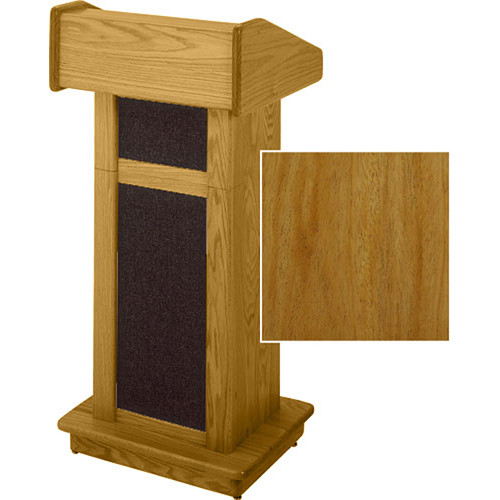 Sound-Craft Systems Modular Lectern (Natural Mahogany)