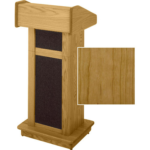 Sound-Craft Systems Modular Lectern (Natural Cherry)