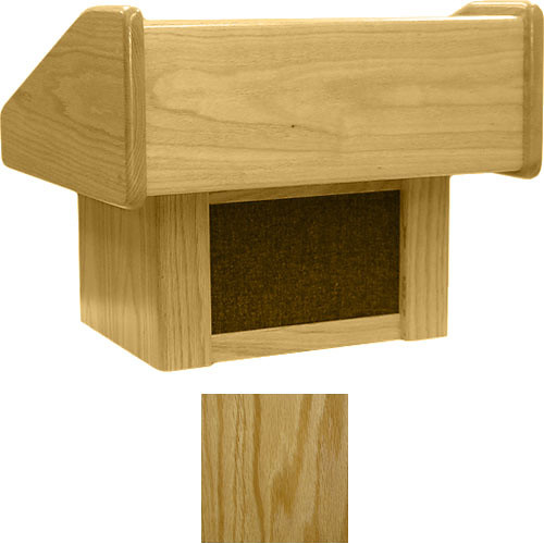Sound-Craft Systems TC Lectern Two Series Table Lectern - Natural Oak