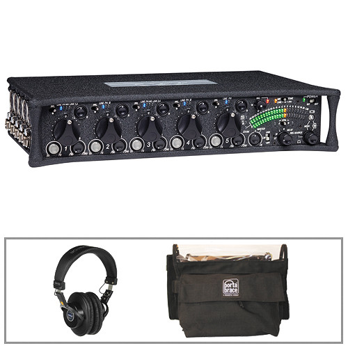 Sound Devices 552 Portable 5-Channel Production Mixer Kit with Case