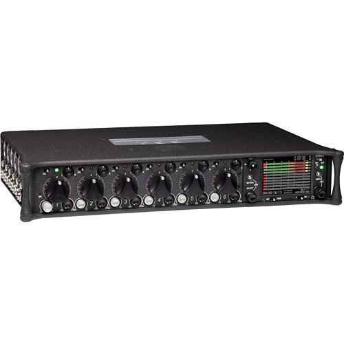 Sound Devices 664 Six-Channel Portable Production Mixer and Porta Brace Case Kit