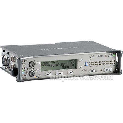 Sound Devices 702 Portable, High-Resolution Audio Recorder