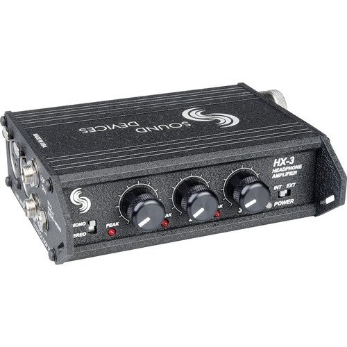 Sound Devices HX-3 - 3 Channel Portable Headphone Amplifier