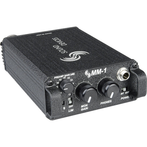 Sound Devices MM-1 Single Channel Portable Microphone Preamp